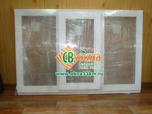 Деревянное окно СВ-ОКНА