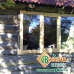 Деревянное окно со стеклопакетом 1170х1770