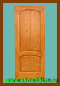 Дверь деревянная для дачи