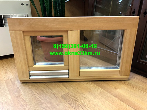 окна из лиственницы для бани