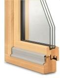 Окна из лиственницы от компании СВ ОКНА
