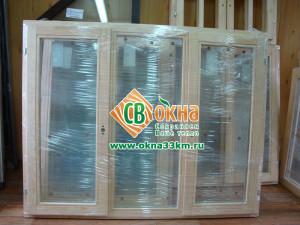 Деревянные окна от компании СВ ОКНА