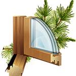 заказать деревянные окна