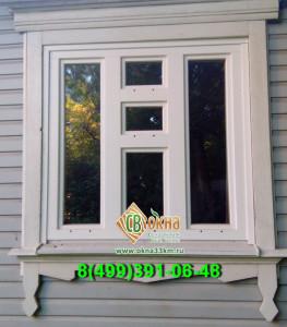 окно ОСВ с форточкой
