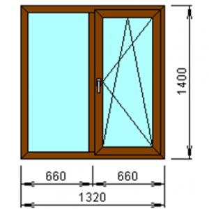 деревянные окна на заказ по размерам